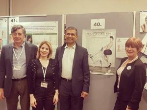 Pr Alain Taieb, Myriam lamine (ATV), Association Australie, Mme Maquignon (AFV)