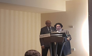 Pr Leila Benzekri Maroc et Pr Yvon Gauthier